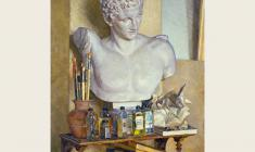 Yuri Belov. Still-life with Hermes. Oil on canvas, 86х80. 1976