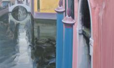Venecia. Oil on canvas. 120х65. 2012