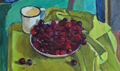 Gevork Kotyantz. Cherry. Х.м.,40х44. 1970