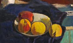 Gevork Kotyantz. Peaches. Oil on canvas, 36х40. 1961