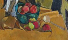 Gevork Kotyantz. Pears. Oil on canvas, 47х50. 1964