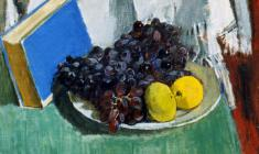 Gevork Kotyantz. Black Grapes.Oil on canvas, 40х50. 1950