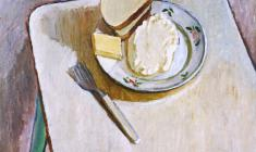Gevork Kotyantz. Breakfast. Oil on canvas, 46,5х54. 1976