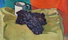 Gevork Kotyantz. Grapes. Х.м.,41,5х46,5. 1958