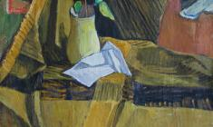 Gevork Kotyantz. Still-life. Oil on canvas, 47х50,5. 1970