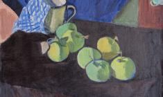 Gevork Kotyantz. Still-life. Oil on canvas, 42х49. 1972