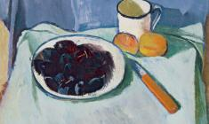 Gevork Kotyantz. Still-life. Oil on canvas, 44х53. 1972