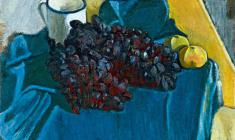 Gevork Kotyantz. Still-life. Oil on canvas, 47х50,5. 1976