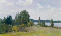 Vladimir Krants. July. Oil on cardboard, 50х70. 1984