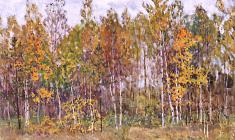 Dmitry Maevsky. Autumn. Oil on canvas, 45х65. 1979
