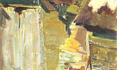 Дмитрий Маевский. Март. Х.м.,57х32. 1964