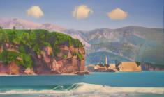 Heavenly Ships. Oil on canvas. 85х110. 2013