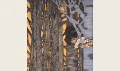 Олег Гуренков. Божелесье. Х.м.,200x125.2003. Фрагмент