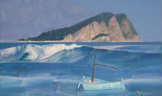 St. Nicholas Island. Oil on canvas. 70х80. 2013