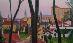 Prague. Oil on canvas. 120х90. 2014
