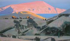 Pink Mountain. Oil on canvas. 60х80. 2015