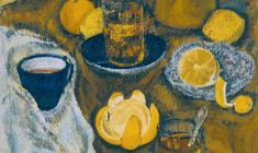 Kapitolina Rumiantseva.  Still-life with Oranges. Oil on canvas,  70х50. 1990
