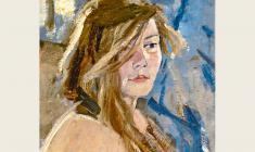 Lev Russov. Kira. Oil on canvas, 67х54. 1962