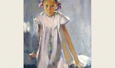 Lev Russov. Bows. Oil on canvas, 98х75. 1960