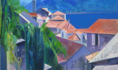 Montenegro. Oil on canvas. 95х75. 2013