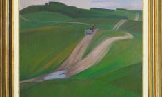 Sergei Osipov (1915 - 1985). Fields. Oil on canvas, 60х70,5. 1978. Price on request