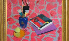 Anatoli Nenartovich (1915 - 1988). Still-life with Red Tissu. Oil on canvas, 60х80. 1979. Price on request.