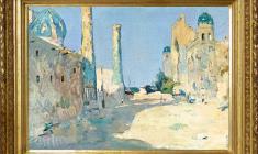 Alexander Naumov (1935 -2010). Registan. Oil on canvas, 52х76. 1967. Price on request