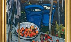 Elena Skuin  (1908 - 1986). Blue Buckets. Oil on canvas, 94х99. 1971. Price on request
