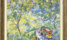 Eugenia Antipova (1917 - 2009). Midday. Oil on canvas, 100х120. 1982. Price on request