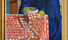 Gevork Kotiantz (1906-1996). Still-life. Oil on canvas, 50 x 56.1970. Price on request.