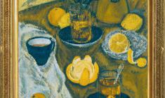 Kapitolina Rumiantseva (1925 - 2002). Still-life with Oranges. Oil on canvas, 70х50. 1990. Price on request