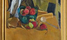 Gevork Kotiantz (1906-1996). Pears. Oil on canvas,47 x 50.1964. Price on request.