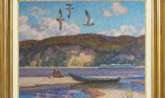 Nikolai Galakhov (b.1928). Oil on canvas. Price on request