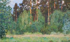 Nikolai Galakhov. Pines at the Pound. Oil on canvas, 98х74. 2003