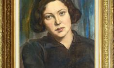 Peter Belousov (1912 - 1989). Portrait of Young Woman. Pastel on paper.,41х33. 1932. Price on request.