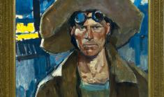 Lev Russov (1926 - 1988). Steel-maker. Oil on wood,67х76. 1972. Price on request