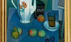 Sergey Osipov (1915 - 1985). Still-life with a White Jug. Oil on canvas, 70 x 60. 1972. Price on request