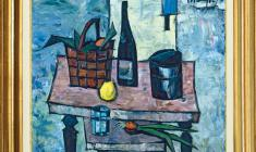 Rostislav Vovkushevsky (1917-2000). Still-life with with Lemon. Oil on canvas, 80 x 90. 1980. Price on request.