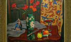 Rostislav Vovkushevsky (1917-2000). Tulips. Oil on canvas, 75 x 90. 1991. Price on request.