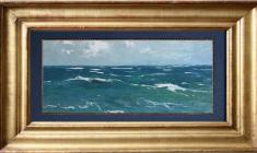 Vsevolod Bazhenov (1909 -1986). Sea. Oil on cardboard, 16,5х34. 1962.  Price on request