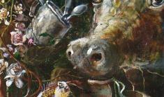 Calvary. Oil on canvas. 80х60.1994. Fr.1