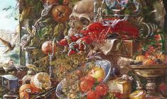 Calvary. Oil on canvas. 80х60.1994. Fr.2