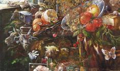 Calvary. Oil on canvas.80х60.1994.  Fr.3