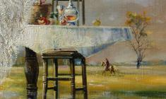 Transience. Oil on canvas. 60х80.1996. Fr.1