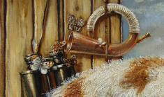 Transience. Oil on canvas.60х80.1996. Fr.2