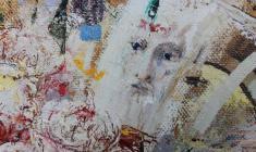 Doubts of Alyosha Karamazov.Oil on canvas.60х50.2014. Fr.1