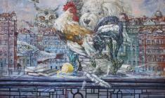 Table. Oil on canvas. 60х80.2007