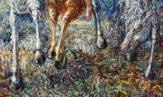 Four Horsemen.100х80.1997. Fr.2